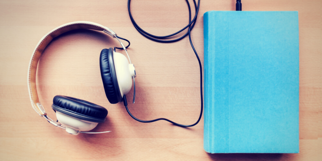 grabación de un audiolibro