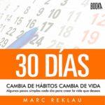 recomendaciones audiolibros - Cambia de habitos cambia de vida - Marc Reklau